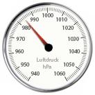Anzeige Luftdruck